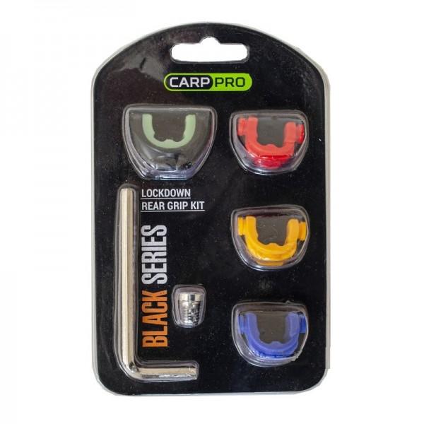 CARP PRO Держатель удилища Lockdown Rear Grip Small Kit black series