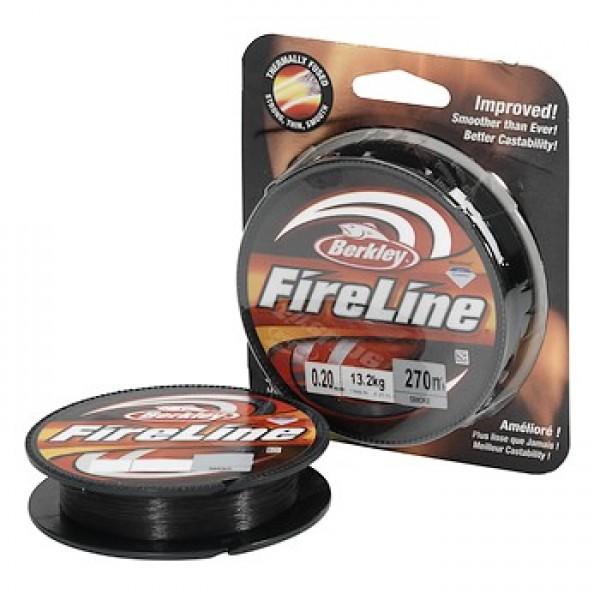 Шнур Berkley Fire Line Smoke d-0.39 27.5кг 110м
