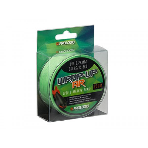 Шнур Prologic Wrap-Up XD - Spod & Marker Braid 250m d-0.16mm 9,07kg 20lbs