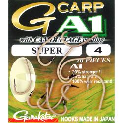 Крючки GAMAKATSU A1 G-CARP CAMOU SAND SUPER размер 4