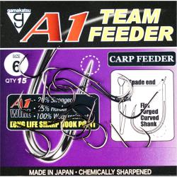 Крючки GAMAKATSU A1 TEAM FEEDER CARP FEEDER размер 10