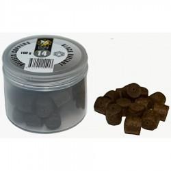 Пеллетс COPPENS BLACK HALIBUT (просверленный) 14мм - 100 гр