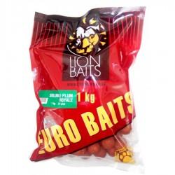 LION BAITS бойлы растворимые серии EURO BAITS 24 мм слива королевская (Plum Royale) - 1 кг