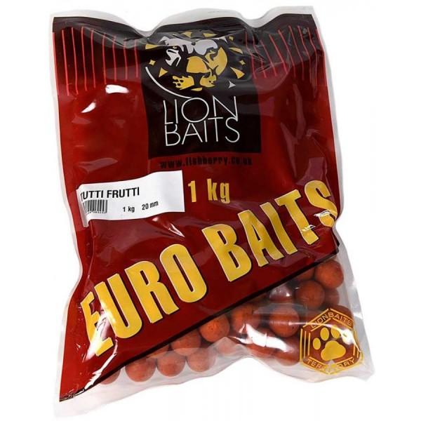 LION BAITS бойлы серии EURO BAITS 20 мм тутти-фрутти (Tutti Frutti) - 1 кг