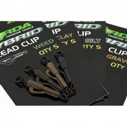 Клипса безопасная Korda Hybrid Lead Clip Clay KHCC