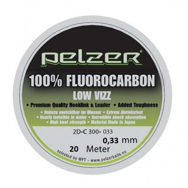 Поводочный материал Pelzer Flourocarbon 20m 0,33mm