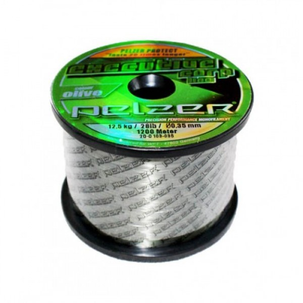 Леска Pelzer Executive Carp, 1200m 0,35 olive