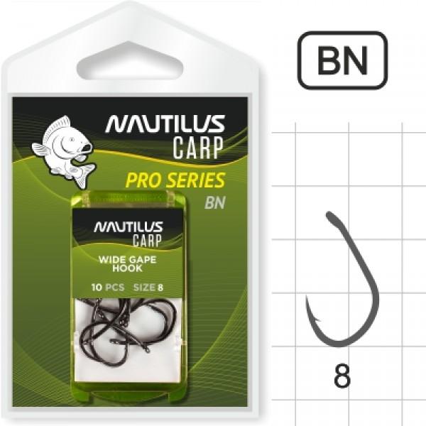 Крючок Nautilus Pro Series Wide Gape Hook BN #8