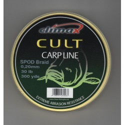 Шнур Сподовый Climax CULT SPOD BRAID 0,16mm 20lb 274м желтый