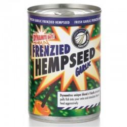Конопля с чесноком Dynamite Baits Frenzied Hemp Seed Garlic Семена конопли c экстрактом чеснока 600гр