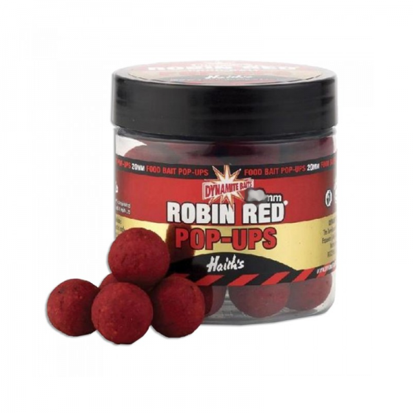 Бойлы плав.Dynamite Baits 15 мм. Robin Red