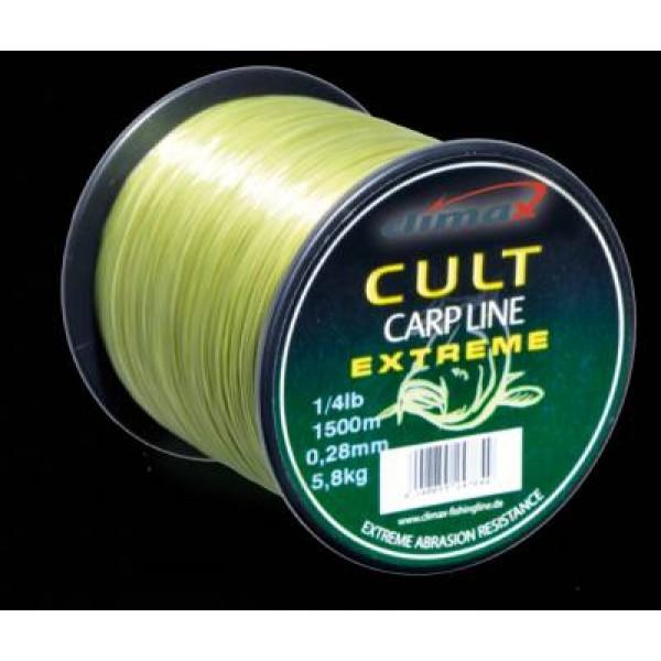 Леска CLIMAX CULT Carp Extreme Line 0.35 mm 9.2 kg mattolive 1/4 lbs (910 m)