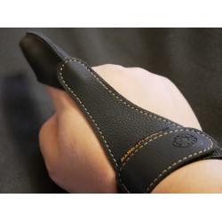 Кожанная перчатка Barracudoff чёрная