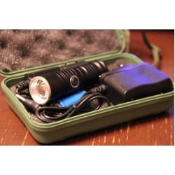Миниатюрный наручный светодиодный фонарь