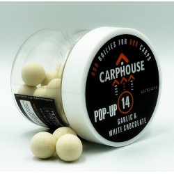 "Бойлы POP-UP ""Garlic&White chocolate"", 14 мм"