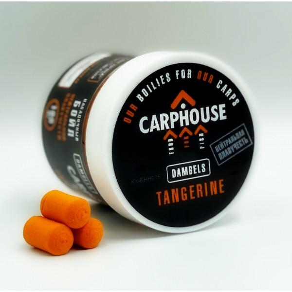 Бойлы насадочные нейтральной плавучести Tangerine Мандарин 14*18мм.