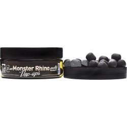 Бойлы плавающие Pop-up Rhino Baits 12мм. Monster Rhino Black Монстер краб со специями