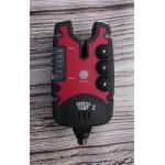 Оригинальные сигнализаторы Monster Carp 2 4+1 с цветными панельками гар.1год