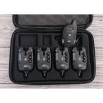 Оригинальные сигнализаторы Monster Carp 2 4+1 с чёрными панельками, гар.1год