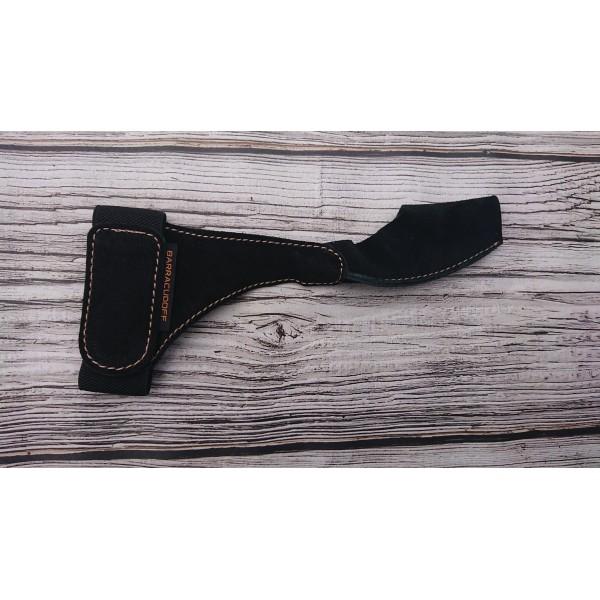 Перчатка из натуральной замши Barracudoff чёрная