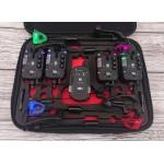 Сигнализаторы с пейджером 4+1 Monster Carp 2 + свингеры с цветной подсветкой