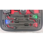 Сигнализаторы с пейджером 3+1 Monster Carp 2 + свингеры с цветной подсветкой